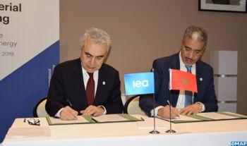 Paris: Le Maroc et l'AIE signent un Programme de travail conjoint pour la période 2020-2021