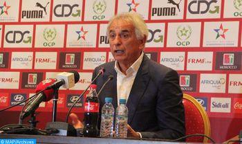 Matches amicaux: le sélectionneur national tiendra une conférence de presse, jeudi à Rabat