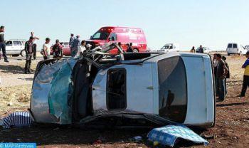 Accidents de la circulation: 19 morts et 2.269 blessés la semaine dernière