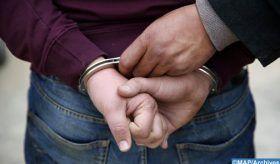 Laâyoune: Arrestation d'un individu recherché pour trafic international de drogue et possession d'arme à feu