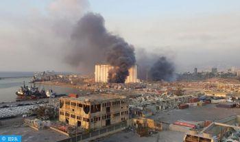 Liban: Deux fortes explosions dans le port de Beyrouth