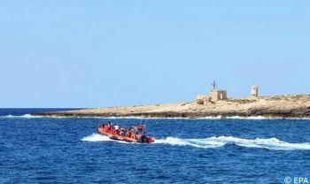 Laâyoune-Sakia El Hamra : Sauvetage de plusieurs Subsahariens et avortement de tentatives d'émigration clandestine