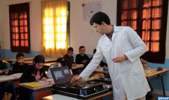 Compact II : 34 lycées et collèges de Tanger-Tétouan-Al Hoceima équipés en matériel informatique