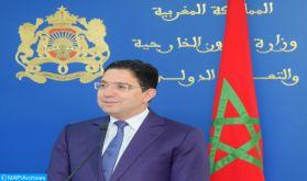 SM le Roi fait de la solidarité active du Maroc en faveur des PMA, un axe central de Sa politique africaine (M. Bourita)