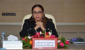 En 2021, la priorité sera donnée aux provinces du Sud (Mme Bouchareb)