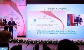 La stratégie intégrée de valorisation durable des Ksour et Kasbah au centre d'une rencontre à Rabat