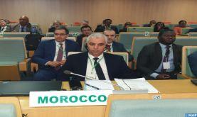 Réunion ministérielle d'urgence à l'Union africaine à Addis-Abeba sur l'épidémie du Coronavirus avec la participation du Maroc