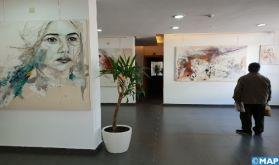 """Tétouan: Vernissage de l'exposition """"Révélation"""" de l'artiste Aqdas"""