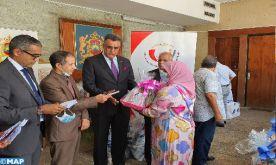 kits alimentaires à 80 familles marocaines et ivoiriennes