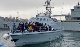 Libye : 700 migrants interceptés et cinq autres morts noyés en Méditerranée