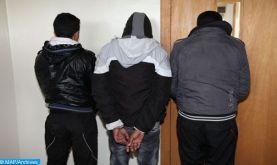 Salé: Attaque à l'arme blanche dans un café, trois multirécidivistes interpellés (DGSN)