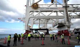 Port Tanger Med 2: APM Terminals dépasse son 1er million d'EVP traités