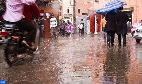 Fortes pluies dans plusieurs provinces du Royaume lundi et mardi (bulletin spécial)