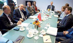Le renforcement de la coopération judiciaire au centre d'entretiens à Bruxelles entre M.Abdennabaoui et le ministre belge de la Justice