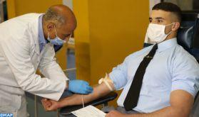 Campagne de don sang : L'Académie royale militaire de Meknès se mobilise