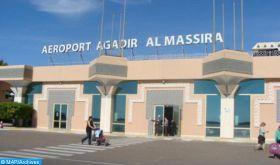 ONDA: Plus de 29.000 voyageurs ont transité par l'aéroport d'Agadir-Al Massira en octobre 2020