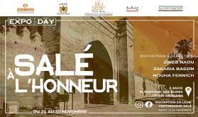 """Salé : """"Expo Day"""", une exposition d'art contemporain du 24 au 30 novembre"""