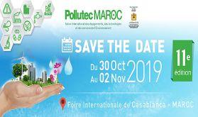 Pollutec Maroc 2019, du 30 octobre au 02 novembre à Casablanca