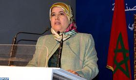 Mme El Moussali expose les effets économique et social de la violence faite aux femmes