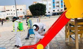 Al Hoceima: Campagnes de sensibilisation et initiatives pour lutter contre la pandémie du Covid-19