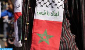 Le soutien du Maroc au peuple palestinien n'a en aucun moment souffert de doute