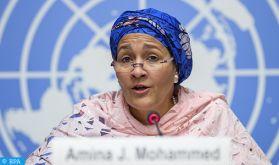 Préservation de l'arganier: La vice-secrétaire générale de l'ONU salue le leadership du Maroc