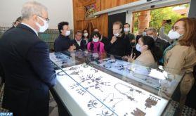 """Marrakech : Inauguration de l'exposition """"Le Maroc : Richesses et Diversités, Regards sur notre patrimoine"""""""