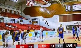 Tournoi de Dubaï de Basket-ball : l'Association de Salé bat l'université américaine de Dubai (91-84)