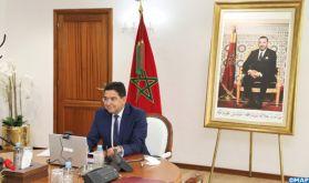"""Maroc-USA: M. Bourita souligne une """"alliance inébranlable"""" qui continue de croître et de prospérer"""