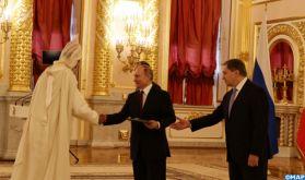 Le président Poutine salue le développement continu des relations entre la Russie et le Maroc