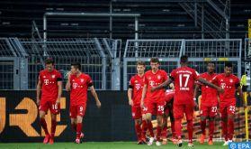 Coronavirus: Les joueurs du Bayern Munich renoncent à nouveau à une partie de leur salaire