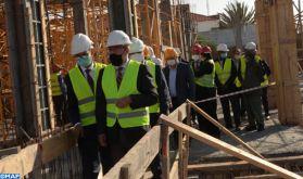 Ben Slimane: M. Ben Abdelkader visite le chantier de construction de la section de la justice de la famille du tribunal de première instance