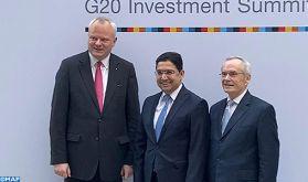 """M. Bourita au 3ème Sommet """"G20 Compact with Africa"""" à Berlin : L'Afrique, une """"priorité"""" dans la politique étrangère du Maroc"""