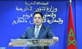 """Le Maroc fait confiance aux autorités maliennes pour trouver """"les meilleures solutions adaptées"""" au contexte du pays (M. Bourita)"""