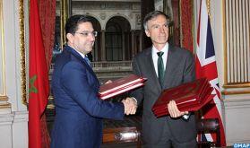 Les échanges commerciaux annuels entre le Maroc et le Royaume Uni se chiffrent à plus de 18.3 milliards de DH (M. Bourita)