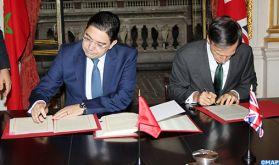 Le Maroc et le Royaume-Uni concluent un accord d'association à Londres