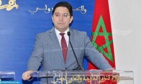 Entretien téléphonique Bourita/Varhelyi : Appui financier de l'UE de 450 millions d'euros au Fonds Spécial pour la Gestion de la Pandémie Covid-19 créé à l'initiative de SM le Roi Mohammed VI
