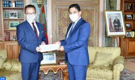 M. Bourita reçoit le nouvel ambassadeur de Pologne