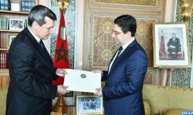 M. Bourita reçoit son homologue turkmène, porteur d'un message du président du Turkménistan à Sa Majesté le Roi