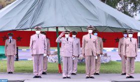 La 1-ère Brigade d'infanterie parachutiste célèbre à Salé le 65è anniversaire des FAR