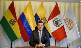 L'adhésion du Maroc à la Communauté andine contribuera au renforcement de la coopération entre les deux parties