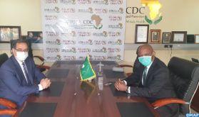 """L'Initiative Royale envers les pays africains, """"un exemple phare de la solidarité inter-africaine"""" (Africa CDC)"""