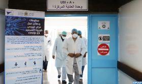 L'unité de réanimation Covid-19 du CHU Mohammed VI de Marrakech indépendante du bloc opératoire