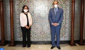 La promotion de la coopération entre la Chambre des représentants et le CNDH au centre d'une rencontre à Rabat