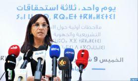 Élections de 2021: les observateurs du CNDH n'ont pas relevé de pratiques majeures entachant la transparence du scrutin (Mme Bouayach)