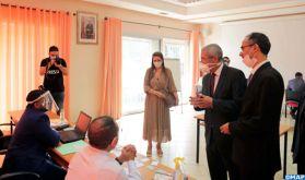 Rabat: Début des épreuves orales des candidats retenus au concours des attachés de justice dans le respect total des mesures préventives