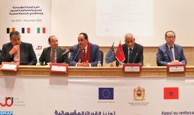 DGAPR : Signature à Rabat d'un accord relatif à la mise en place d'un Consortium pour le développement de la recherche en matière pénitentiaire