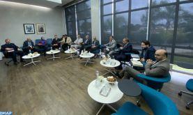 CSMD: Séance d'écoute avec les représentants de l'Union nationale du travail au Maroc