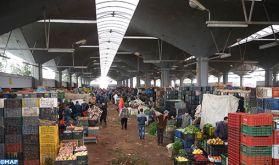 Au marché de gros et aux abattoirs de Casablanca, tout fonctionne normalement