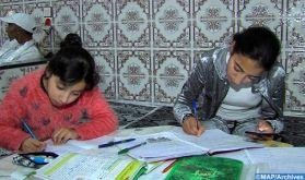 Comment l'État marocain entend aider les élèves ne pouvant pas suivre les cours à distance ?